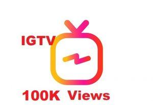 I will send you 100K+  IGTV Views INSTANT