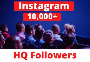 Instagram 10,000+ HQ Followers Nondrop