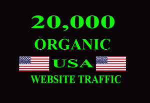 I will provide 20,000 keyword Targeted/Social Media USA Website traffic to your website