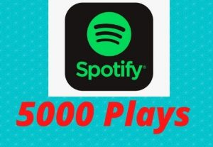 Spotify 5000+ Premium Plays Royalty Eligible