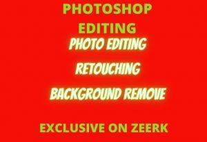 I will do Photo editing /retouching