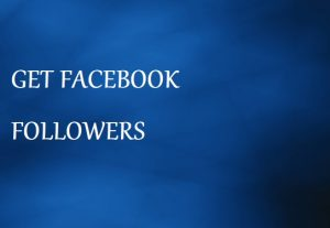 Get 1000 Followers For Your Facebook  Profile
