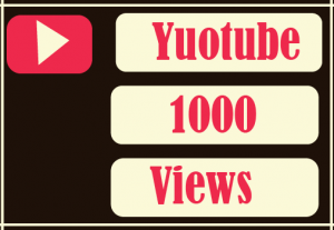 Youtube 1000 views Best Quality