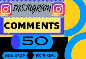 i will do instagram 50 comments  and increase engagement for organic instagram growth