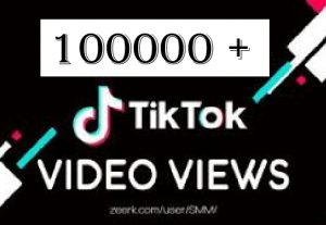1 ,00000 tiktok views Non Drop and Best quality