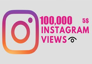 Get 100,000 Instagram Video views +Reach in 1 Hours, Real & Active Users, Non Drop Guaranteed