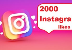 Give You 2000+ Instagram Likes Instant, Active User, Non-Drop