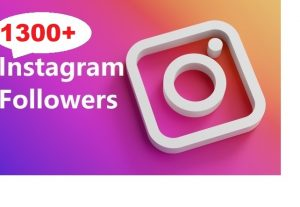 Get 1300+ Instagram Follower , REAL WITH Lifetime GUARANTEED