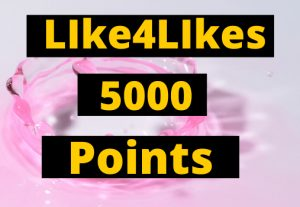 Like4Likes 5000 Points ID Instant