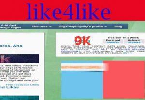 I will provide you 9000-10000 like4like point
