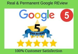 I will write and provide you with 5 Google reviews permanently.