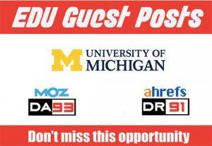 EDU Guest Post on University of Michigan – DA93 Do-FoIIow Link