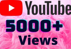 I will add 5000+ YouTube views ,all views are 100% real and organic.