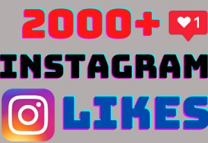 I will add 2000+ Instagram post likes ,all likes are 100% real and organic.