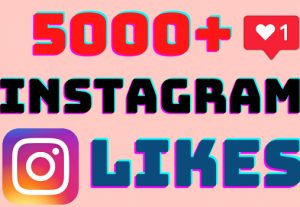I will add 5000+ Instagram post likes ,all likes are 100% real and organic.