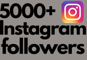 I will add 5000+ Instagram followers all followers are 100% real and organic.