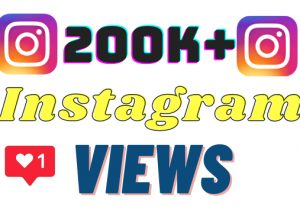 I will add 200k+ Instagram views ,all views are 100% real and organic.