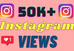 I will add 50k+ Instagram views ,all views are 100% real and organic.