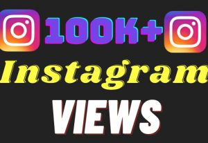I will add 100k+ Instagram views ,all views are 100% real and organic.