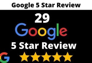 provide 29 permanent 5 star google review