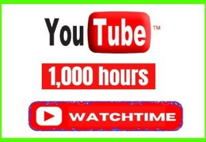 Get 1000+ Real and Organic Lifetime Permanent YouTube Watchhours
