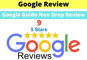 I will give 9 permanent google review for your Business
