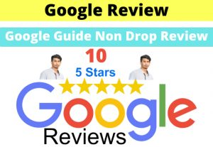 I will Give 10 Permanent Non-Drop Google Review