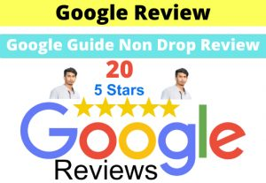 Provide 20 Permanent 5 Star Google Review