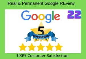 FAST DELIVERY!! Get 22 google Permanent review