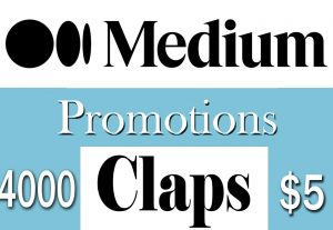 Buy 4000 Medium Claps to Your Article