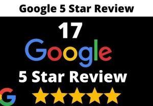 I will provide 17 permanent 5 star google review