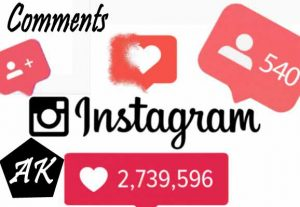You Will Get 1,000+ Real Instagram Comments From All Active User