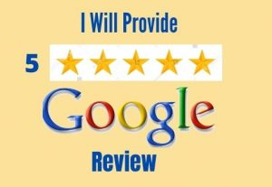 you will get 10 permanent google review for 8$