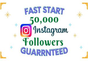 I will Add 50K Instagram Followers Instantly, High Quality & Non-Drop Guaranteed