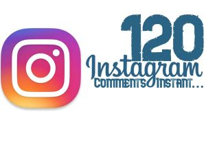 send you 120+ INSTAGRAM real comments instant