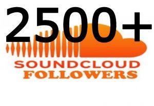 i send you 2500+ SoundCloud followers