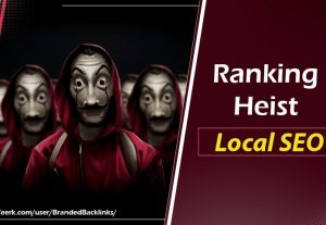 I will Heist Ranking using Local SEO Package