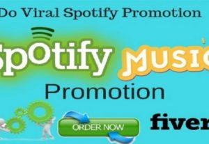 l Do Organic Spotify Music Promotion