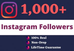 Promote Your Instagram For 1000 Followers & 10 Custom Comments  GUARANTEE SERVICE