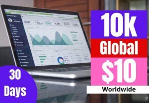Super-targeted Complete 10k Human Targeted web traffic to your website or blog for $10