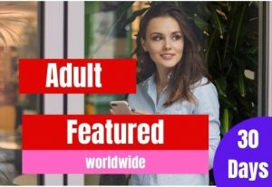 Adult featured web traffic service for 30 days