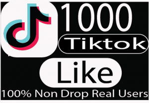 I will promote your tik tok 1000+ like  organically to get views,likes