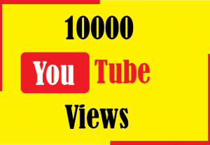10000+ youtube views,Non Drop and Best Quality
