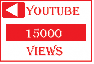 15000+ youtube views,Best quality ,non drop and lifetime permanent