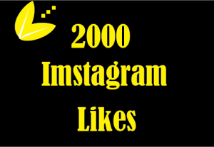 2000 Instagram Likes ,Best quality ,Non Drop and Lifetime permanent