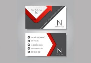 I create's modern type of business card design in High HD revolution.
