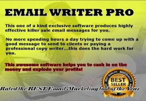 Email Writer Software that Helps Generates Cash
