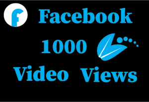 10000+ Facebook video views,100% real and lifetime guaranteed