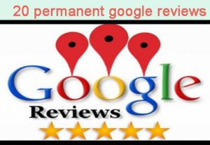 I will give you 20 google map permanent reviews from your targeted area