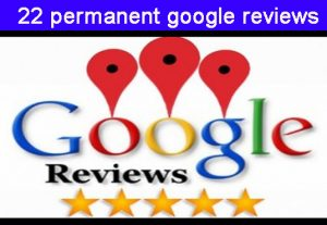 I will give you 22 google map permanent reviews from your targeted area according to your instruction